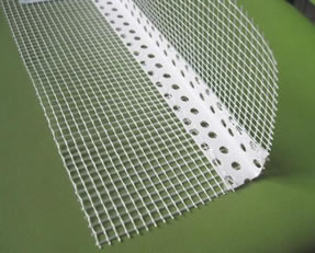 Fiberglass Mesh Wings for Plaster Angle Bead